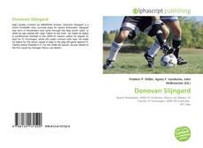 Bookcover of Donovan Slijngard