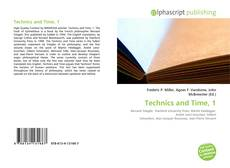 Bookcover of Technics and Time, 1