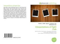 Bookcover of Interpretations of Fight Club
