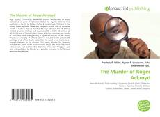 Capa do livro de The Murder of Roger Ackroyd
