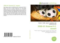 Обложка 2000–01 Arsenal F.C. season