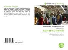 Bookcover of Psychiatrie Culturelle