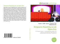 Portada del libro de Simpsons Roasting on an Open Fire