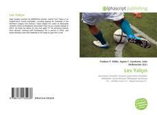 Lev Yalçın kitap kapağı