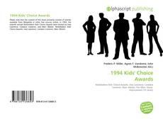 Portada del libro de 1994 Kids' Choice Awards
