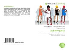 Bookcover of Audrey Quock