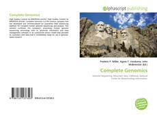 Bookcover of Complete Genomics
