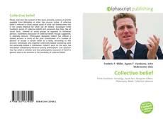 Portada del libro de Collective belief