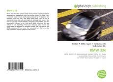 BMW 326的封面