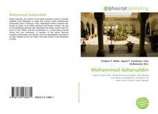 Bookcover of Mohammad Azharuddin