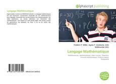 Langage Mathématique kitap kapağı