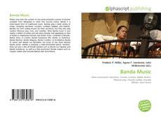 Portada del libro de Banda Music