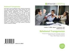 Bookcover of Relational Transgression