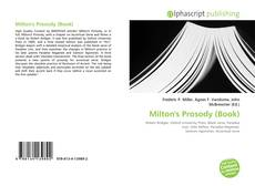 Bookcover of Milton's Prosody (Book)
