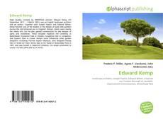 Portada del libro de Edward Kemp