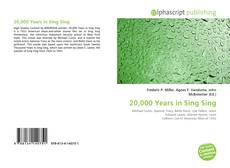 Bookcover of 20,000 Years in Sing Sing