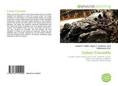 Buchcover von Cuban Crocodile