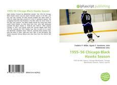 Обложка 1955–56 Chicago Black Hawks Season