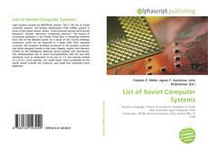 Portada del libro de List of Soviet Computer Systems
