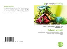 Bookcover of Advent wreath