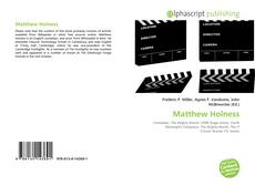 Bookcover of Matthew Holness