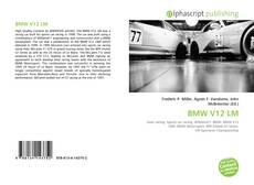 Bookcover of BMW V12 LM