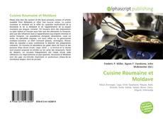 Bookcover of Cuisine Roumaine et Moldave