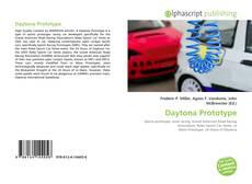 Capa do livro de Daytona Prototype