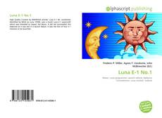 Bookcover of Luna E-1 No.1