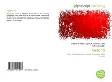 Bookcover of Factor X