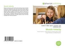 Copertina di Muzzle Velocity