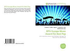 Capa do livro de MTV Europe Music Award for Best Pop