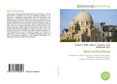 Bookcover of Neo-orthodoxy