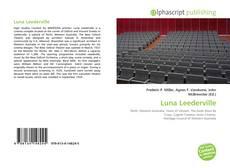 Portada del libro de Luna Leederville