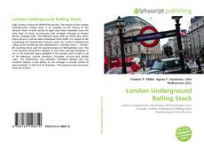 Bookcover of London Underground Rolling Stock