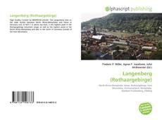 Buchcover von Langenberg (Rothaargebirge)