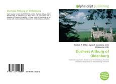 Borítókép a  Duchess Altburg of Oldenburg - hoz