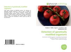Couverture de Detection of genetically modified organisms