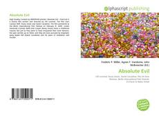 Bookcover of Absolute Evil