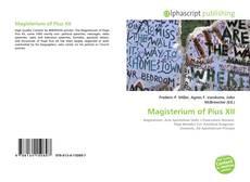 Buchcover von Magisterium of Pius XII