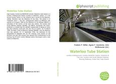 Bookcover of Waterloo Tube Station