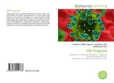 Portada del libro de HIV Tropism