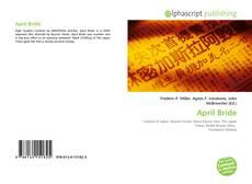 Capa do livro de April Bride