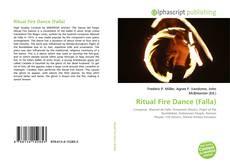 Capa do livro de Ritual Fire Dance (Falla)