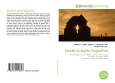 Bookcover of Death in Norse Paganism