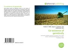 Bookcover of Co-existence of genetically