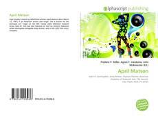 Capa do livro de April Matson