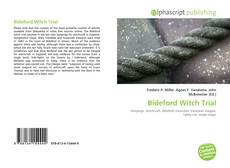 Bookcover of Bideford Witch Trial