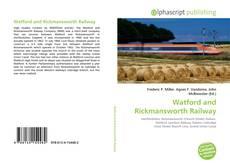 Couverture de Watford and Rickmansworth Railway