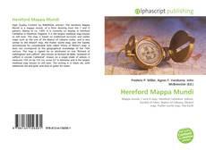 Hereford Mappa Mundi kitap kapağı